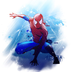 spiderman_A3_2015_Vector